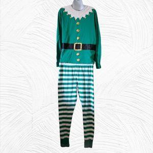 Elf Two Piece Matching Pajama